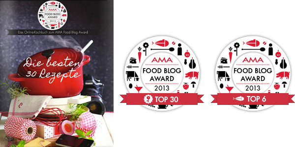 AMA Food Blog Award 2013 Pures Geniessen