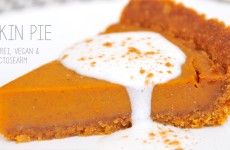 Pumpkin Pie glutenfrei, vegan & fructosearm