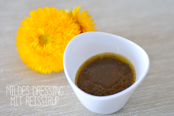 Balsamico Senf Dressing mit Reissirup fructosearm