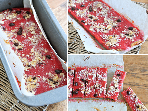 Power Riegel mit Beeren-Mark vegan & fructosearm