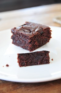 Brownies vegan, fructosearm & supersaftig